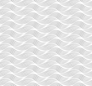 Renovační obklady stěn vlny bílé