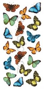Samolepící dekorace na stěnu Motýli