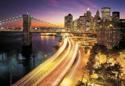 Fototapeta Světla NYC