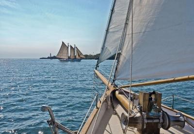 Fototapety National Geographic Plachtění na moři
