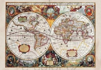 Fototapety vlies Stará mapa