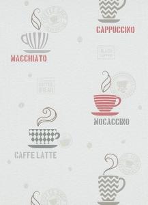Tapety do kuchyně a koupelny Káva