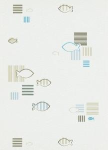 Tapety do kuchyně a koupelny Rybičky