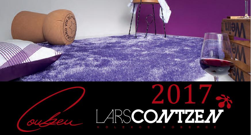 Kusové značkové koberce Lars Contzen