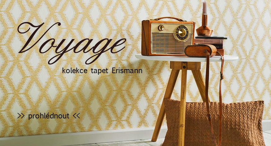 Tapety na zeď Erismann Voyage