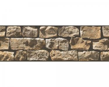 Samolepící bordury na zeď Kámen