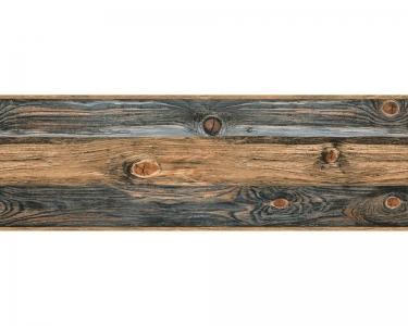 Samolepící bordury na zeď Prkno Dřevo