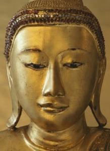 Fototapeta Zlatý Buddha
