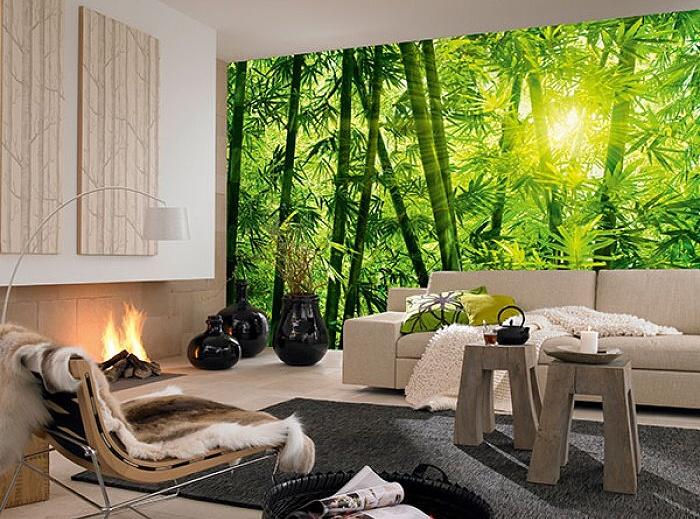 Fototapeta na stěnu Bambusový les