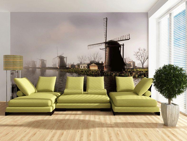 Fototapeta na zeď Holandsko větrný mlýn