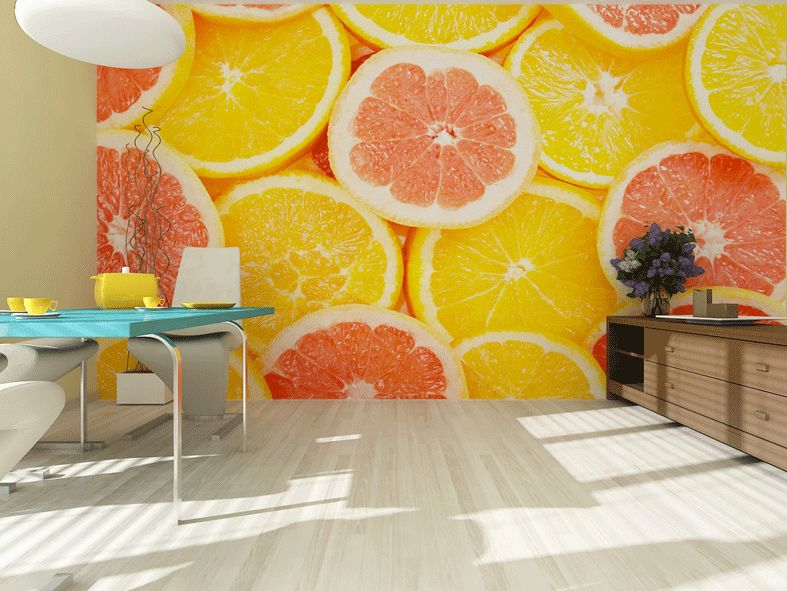 Fototapety na zeď Pomeranče Vlies