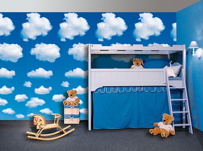 Fototapety na stěnu nebe a mraky