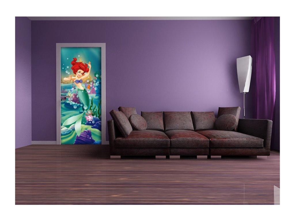 Dětská Fototapeta na zeď Mořská Víla ARIEL Vlies