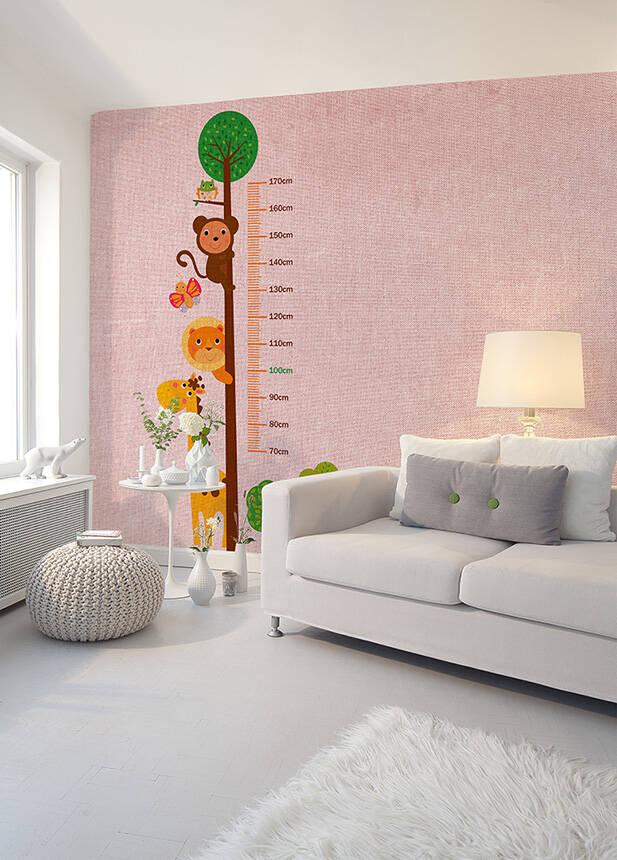 Fototapeta Vlies Livingwalls Metr růžový