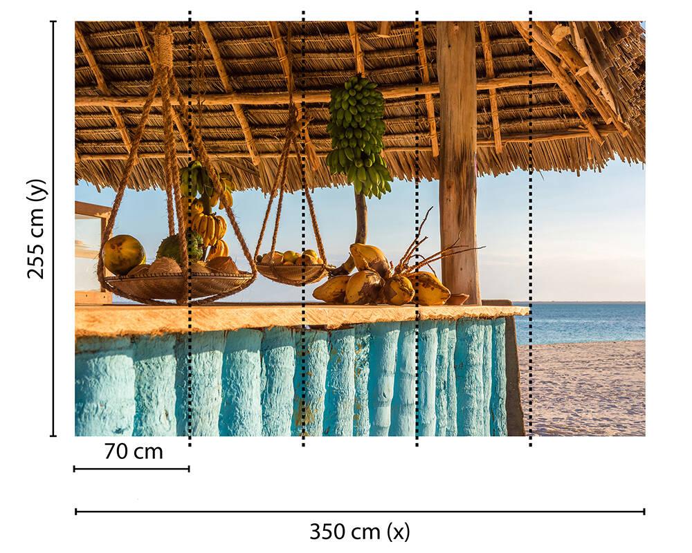 Fototapeta Vlies Livingwalls Plážový bar