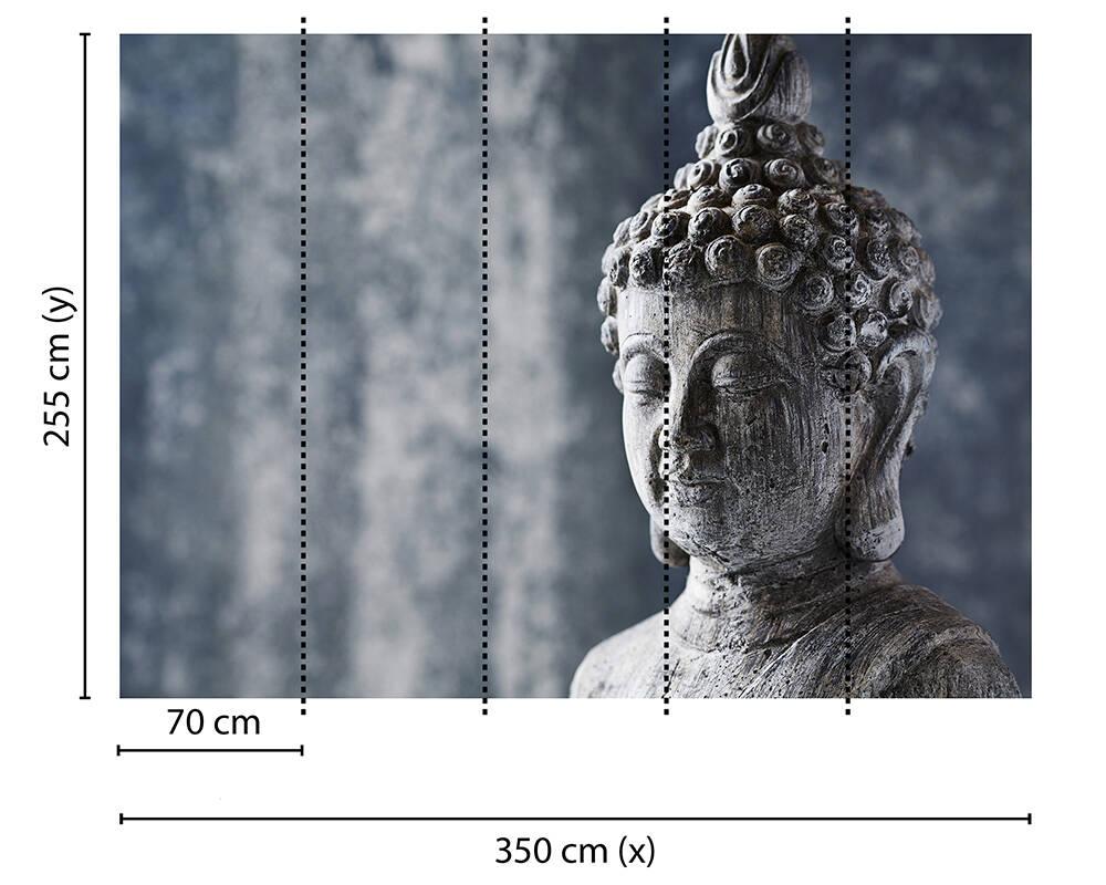 Fototapeta Vlies Livingwalls Asian Culture grey