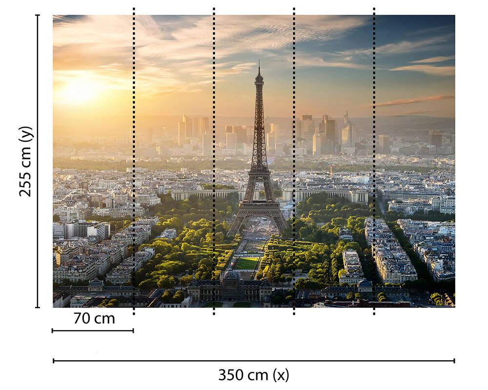 Fototapeta Vlies Livingwalls Eiffelova věž