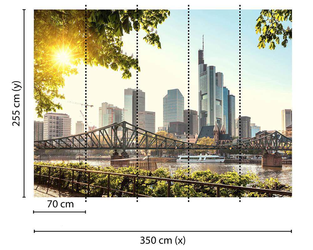 Fototapeta Vlies Livingwalls Frankfurt City