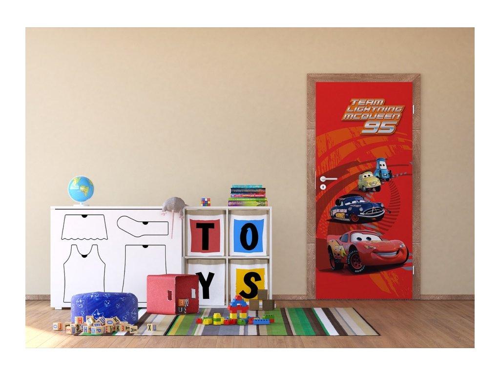 Dětská Fototapeta na zeď Cars Team Vlies