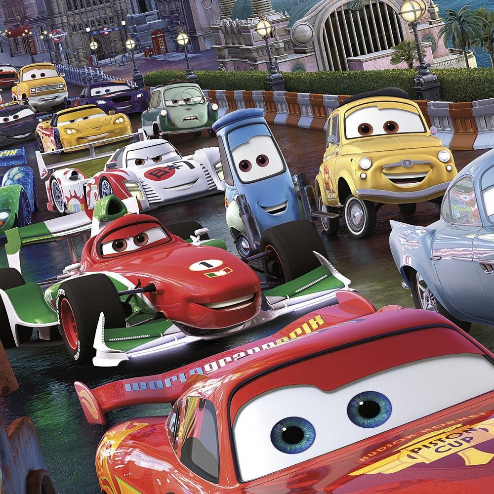 Dětská fototapeta Cars Race