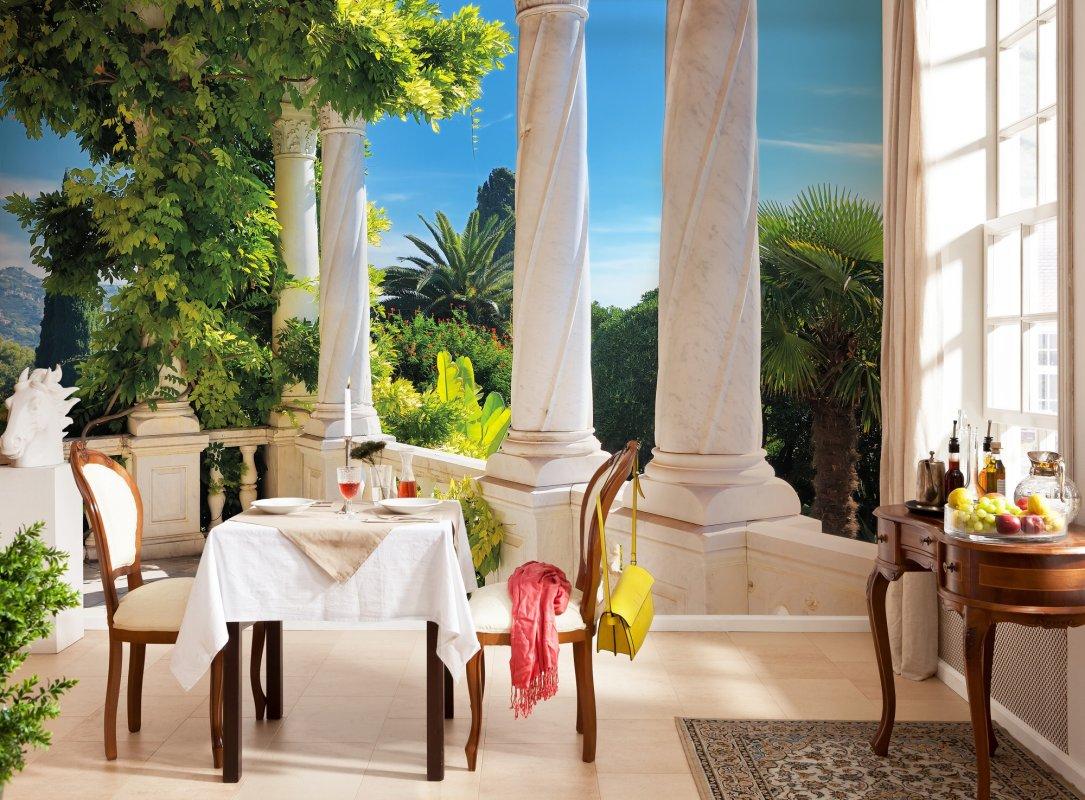 Fototapeta Terasa s výhledem Villa Liguria
