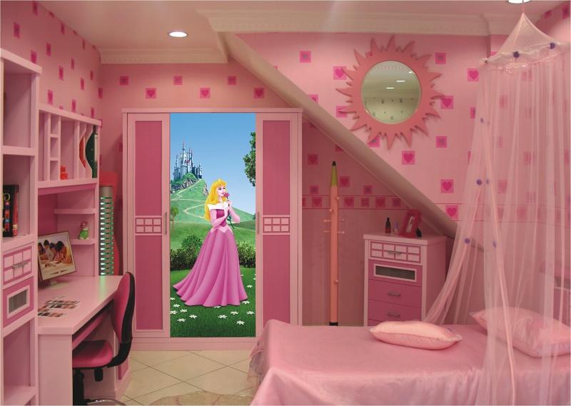Dětská tapeta na zeď Princezna Aurora Vlies