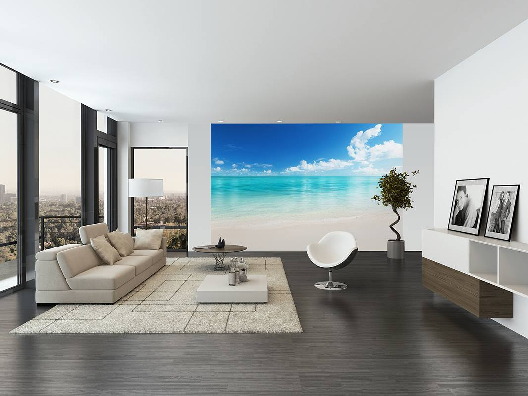 203709c0098 Fototapeta romantická pláž
