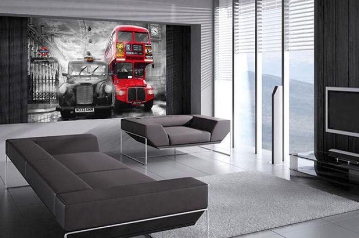 Fototapety na zeď Londýnský Taxi a Autobus