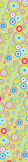 Samolepící fototapety Bubliny barevné
