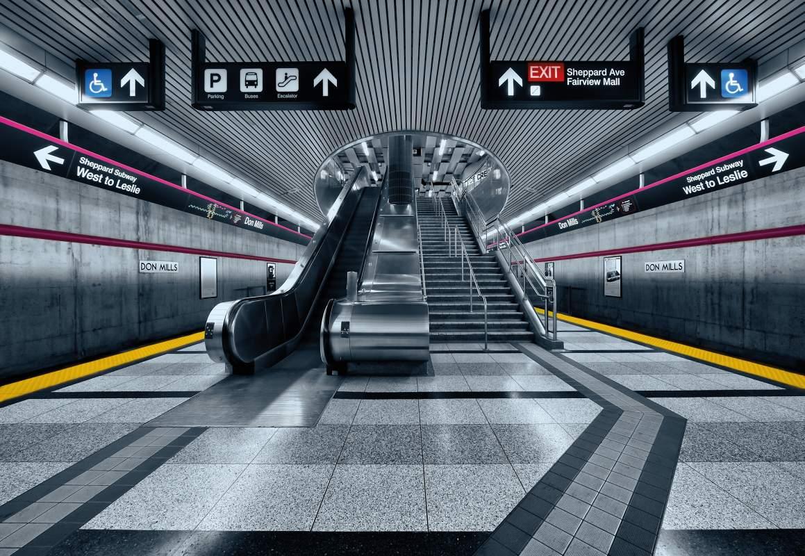 Fototapeta na stěnu Metro