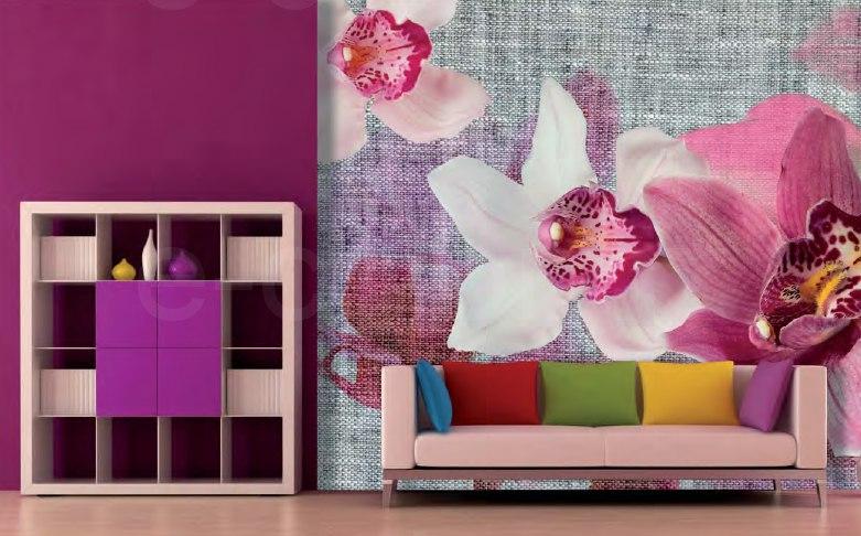 Fototapety Orchidea koláž Vlies