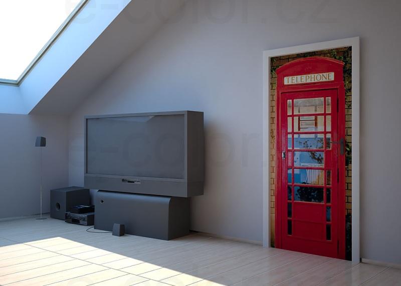 Fototapety Londýn telefonní budka
