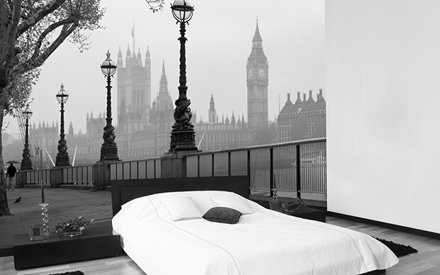 Fototapety na zeď Londýnská mlha