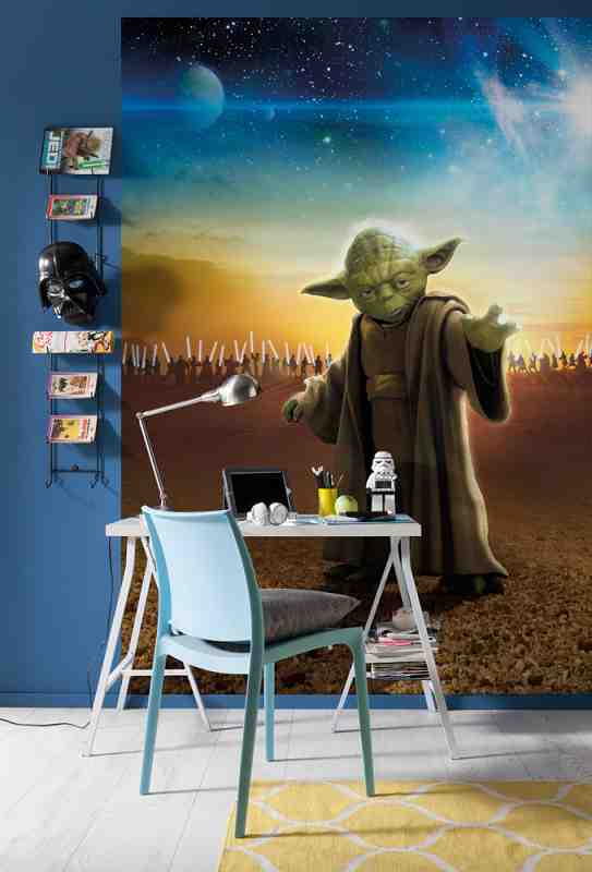 Fototapety Star Wars mistr Yoda