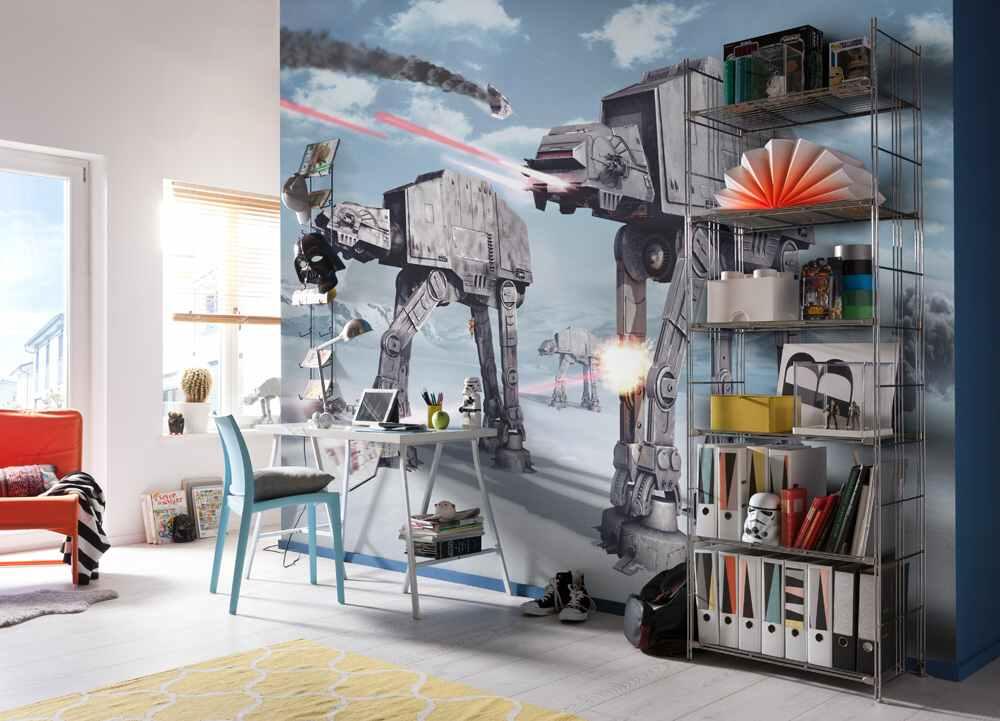 Fototapety Star Wars bitva na planetě Hot