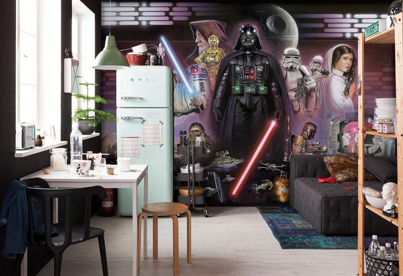 Fototapety Star Wars Darth Vader koláž