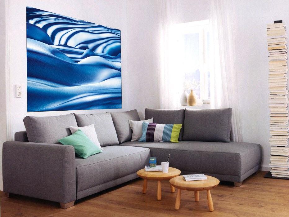 Fototapety Ledová modrá