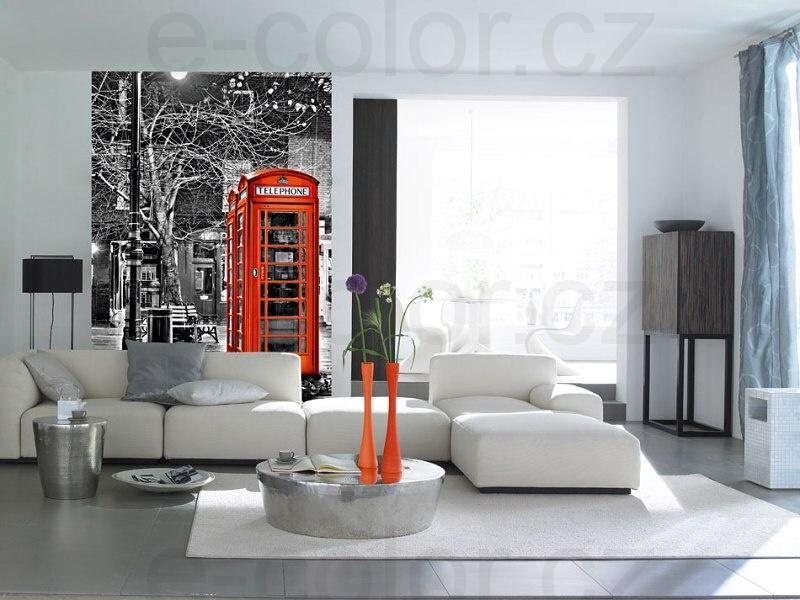 Fototapety Londýnská Telefonní budka