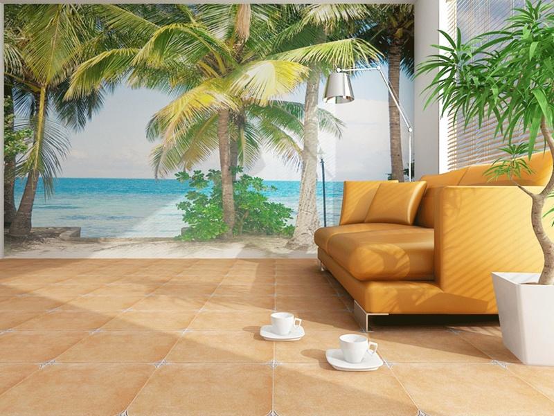 Fototapeta na zeď Výhled na pláž