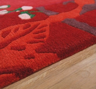 Vlněný koberec