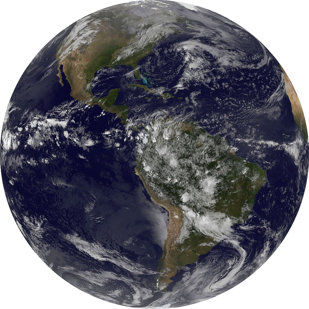 Samolepící fototapeta kruh - Planeta Země