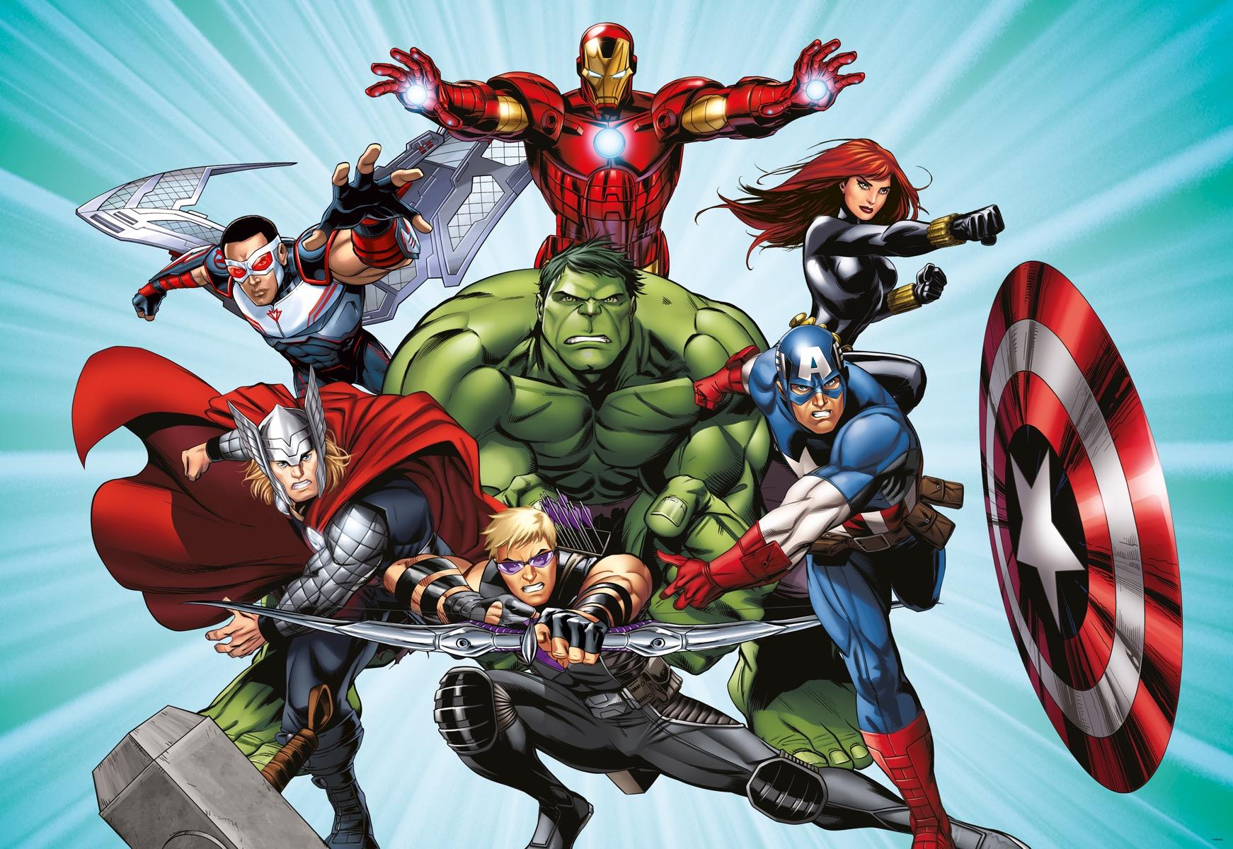 Dětská fototapeta Marvel Avengers