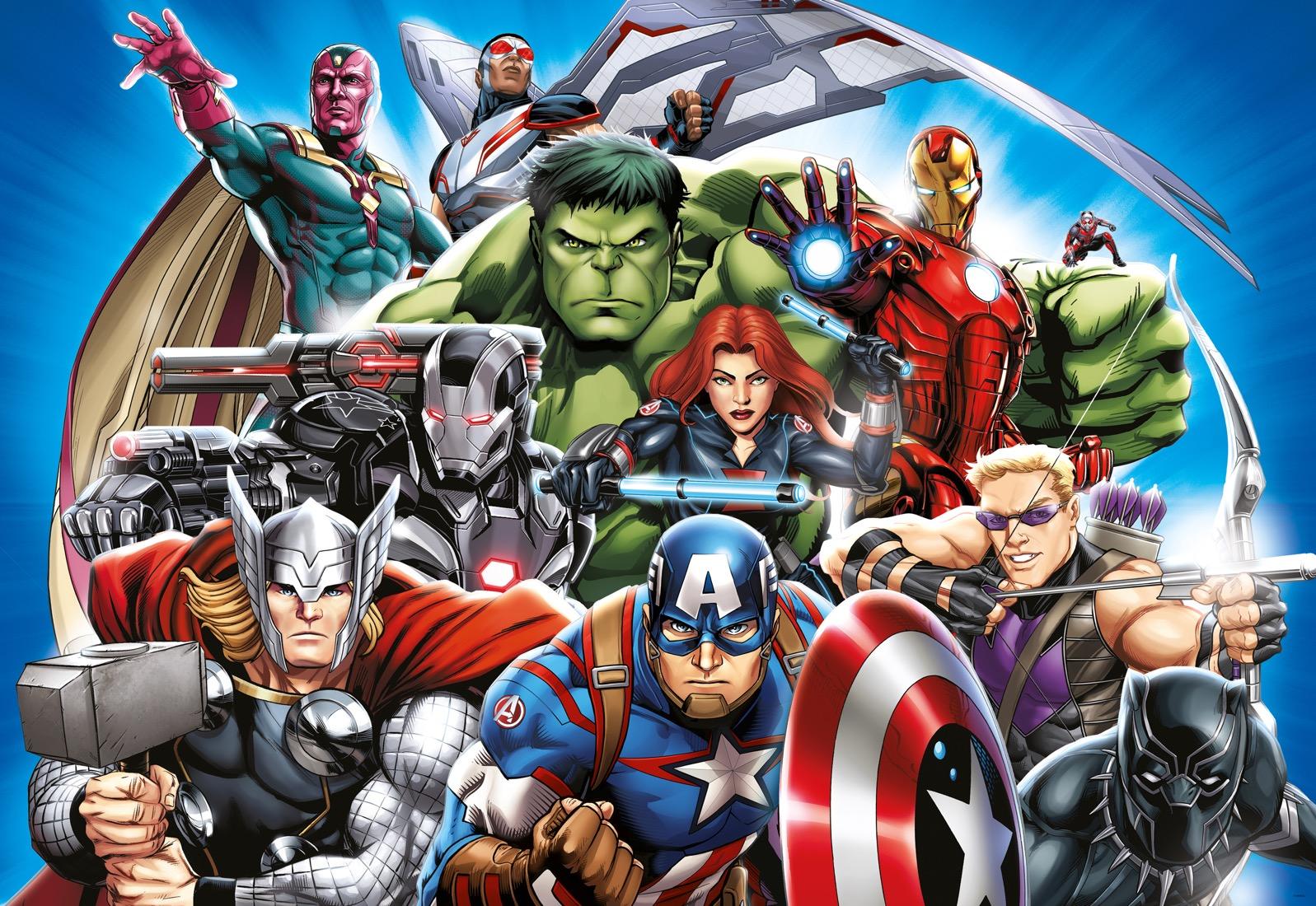 Dětské fototapety Marvel Avengers