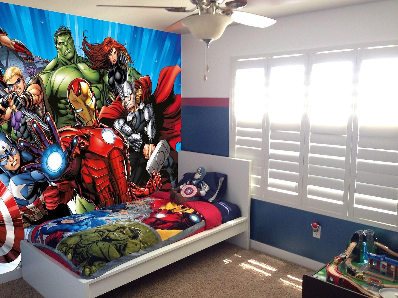 Fototapeta Marvel Avengers vlies