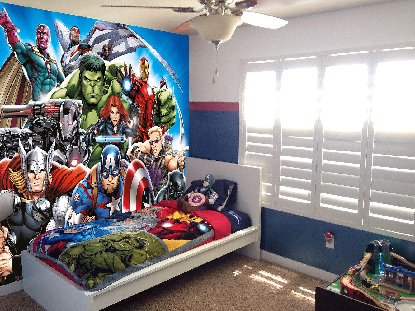Fototapeta Marvel Avengers hrdinové vlies