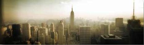Fototapety adhezivní na sklo Město