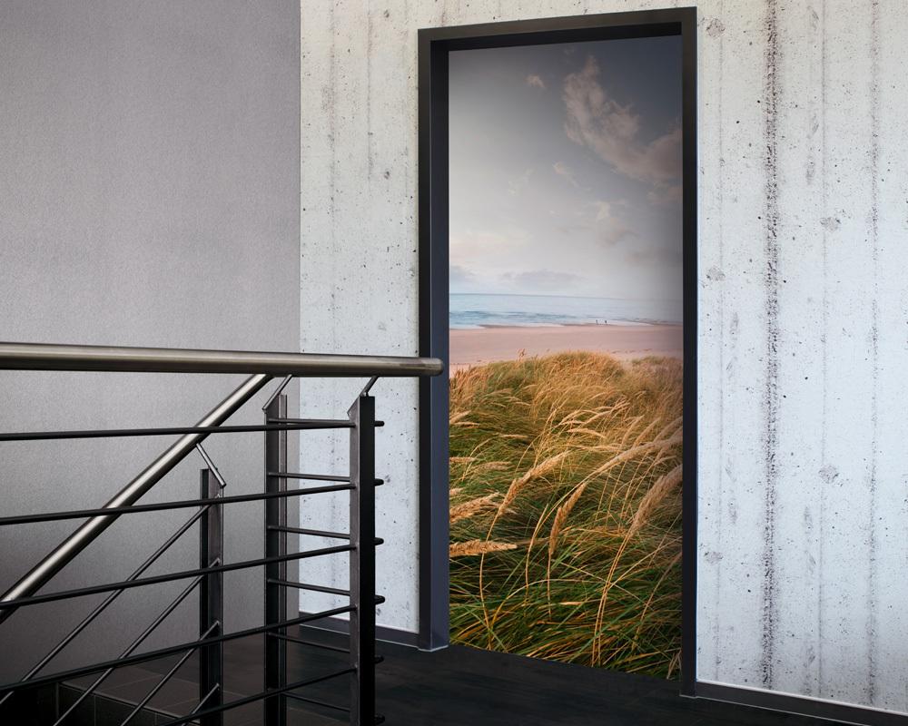 Fólie na renovaci dveří Pobřeží