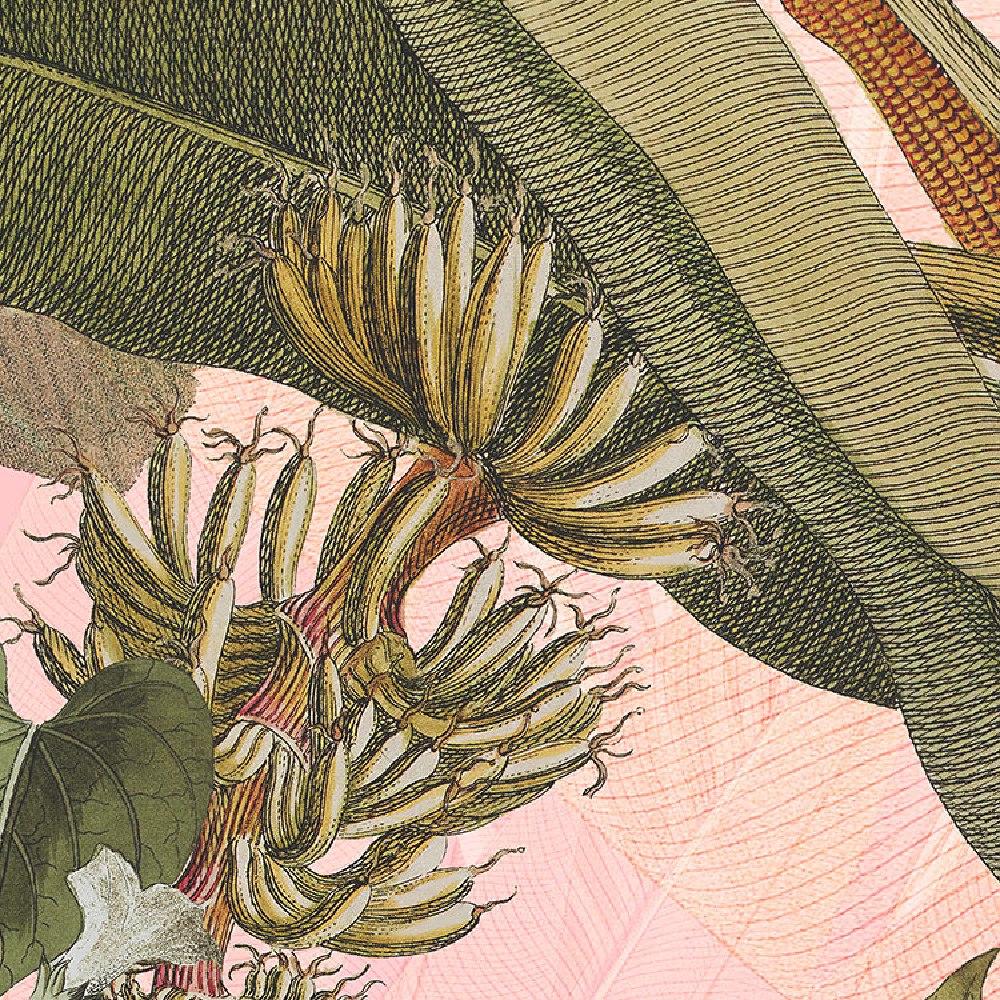 Samolepící fototapeta kruh - Mother Nature - Botany