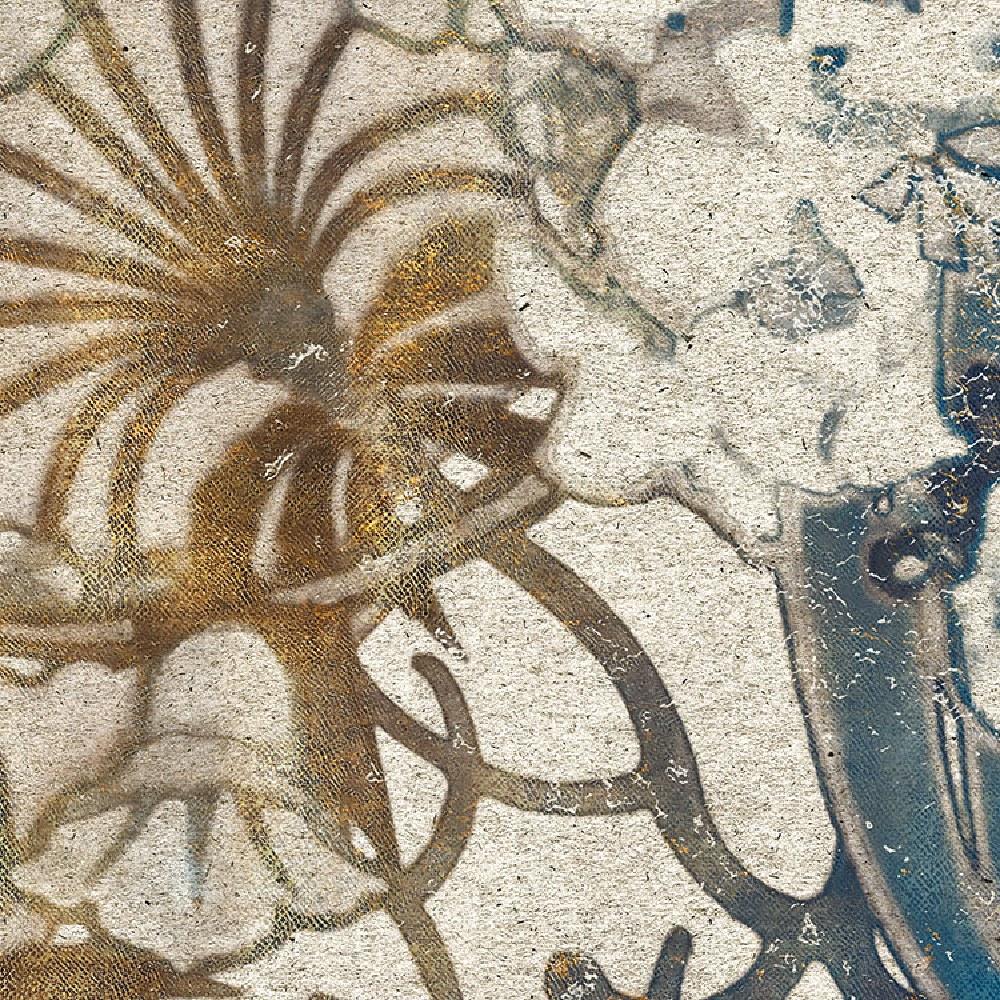 Samolepící fototapeta kruh - History of Arts - Bohyně