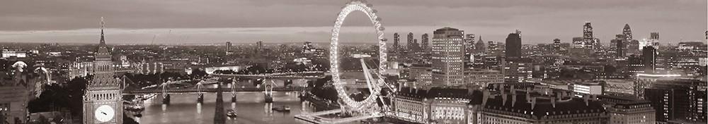 Samolepící fototapeta Londýn panorama